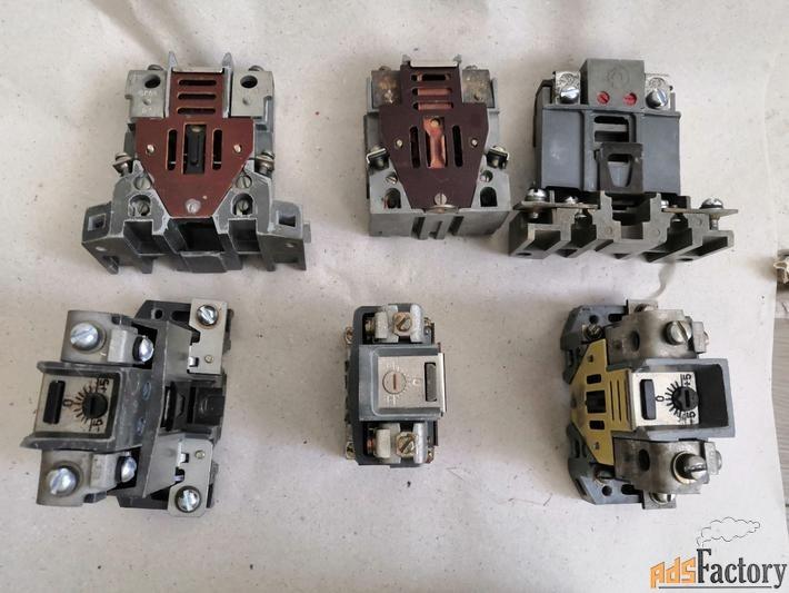 тепловые токовые реле трн-10, трн-25, трн-32, трн-40