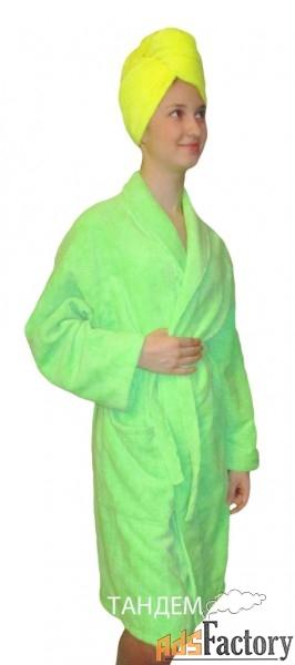 халаты, парео, килты, тюрбаны из микрофибры