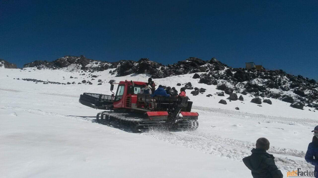 лыжные туры в приэльбрусье. трансфер для катания