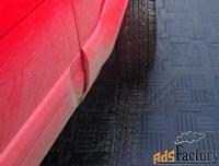 первичная резиновая плитка для гаража, склада, бокса резиновый паркет