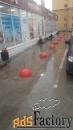 бетонные полусферы-ограничитель парковки 490х230