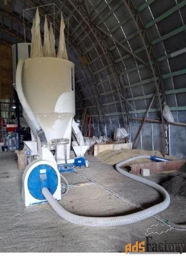 дробилка пневматическая 500-5000 кг/ч