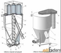 смеситель комбикорма 500, 1000, 2000 кг