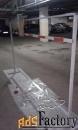 барьерные ограждения,стеллажи из профильной трубы
