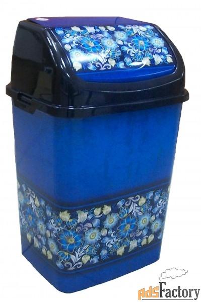 контейнер для мусора с плав. крышкой
