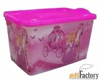 контейнер пищевой «золушка»  прямоугольный №6 35 л 49,5 х 30 х 26,5 см