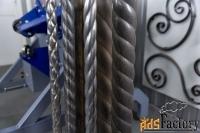 кузнечные станки «витая труба» - профи-вт, с гранями крученой формы