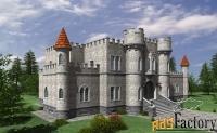 строим настоящий замок