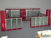 изготавливаем стеллажи,витрины и прилавки