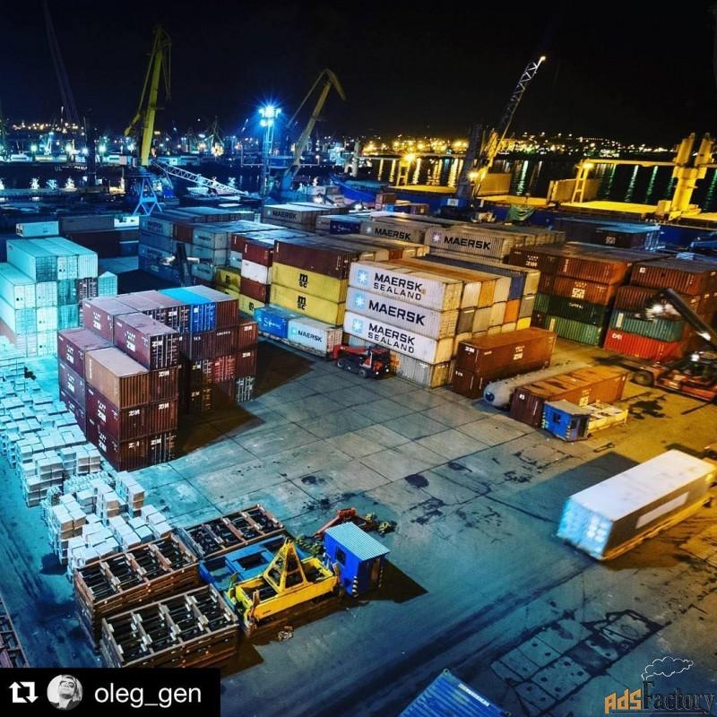 логистические услуги, контейнерные перевозки
