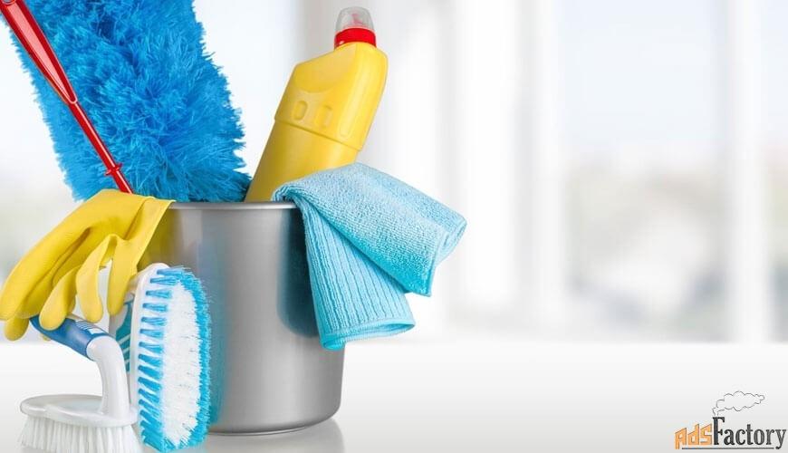 уборка жилых и производственных помещений