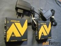 передатчик и приемник видео и аудио по витой паре