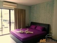 отель в паттайе с 36 комнатами, 5 этажей, в 300 метрах от пляжа