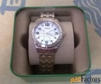 новые часы fossil