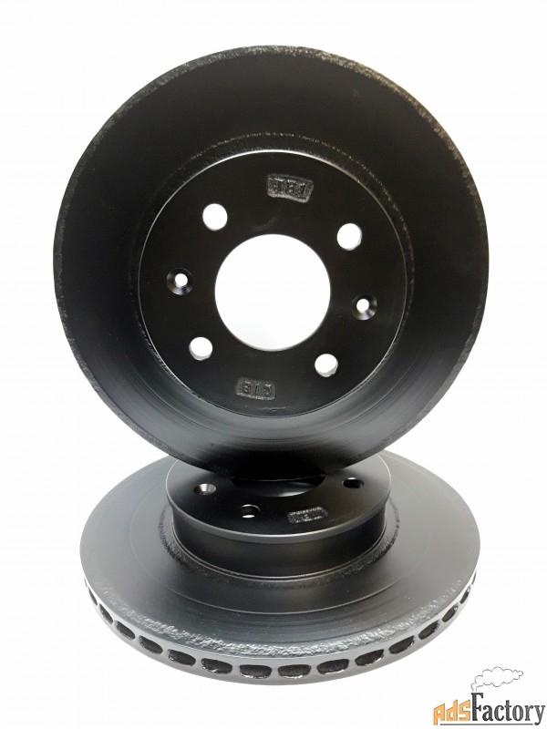 тормозные диски переднии для hyundai