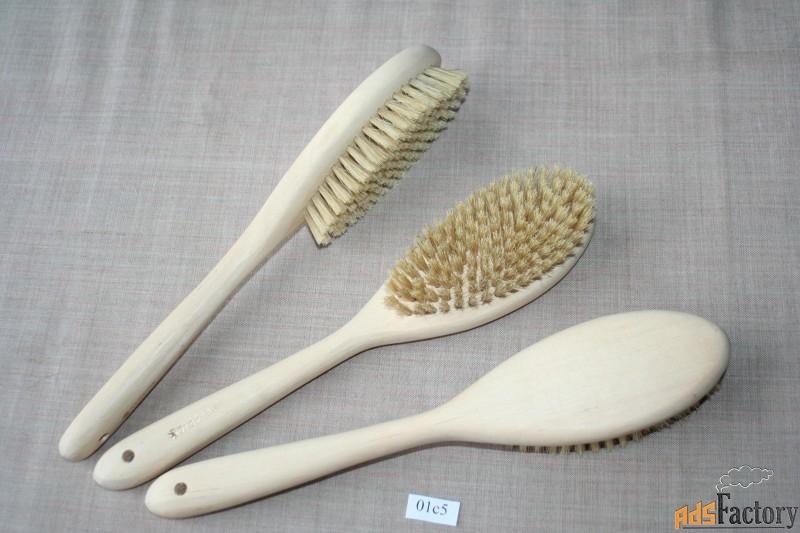 щетки для сухого массажа и бани