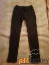 Штаны черные стрейч