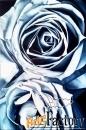 интерьерная картина маслом розы индиго