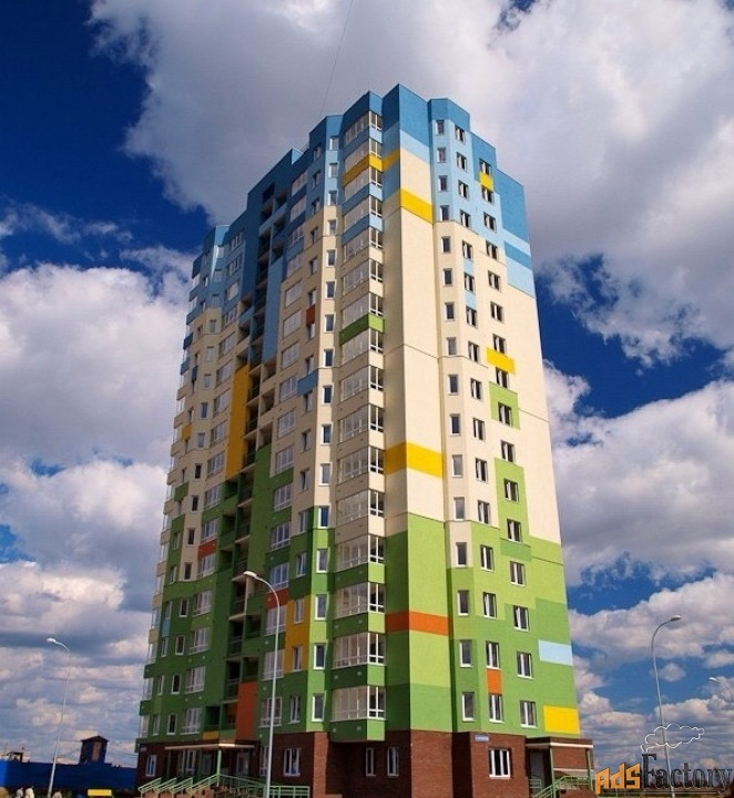 2 - комн.  квартира, 70 м², 14/17 эт.