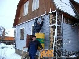 сайдинг. все виды отделочных и плотницких работ, полы, двери.