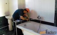 наливной акрил, эмалировка ванн, вкладыш, гарантия качества.