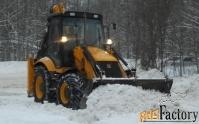уборка снега с территории и кровли. вывоз снега. без выходных.