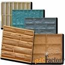 формы полиуретановые для изготовления облицовочного камня и плитки
