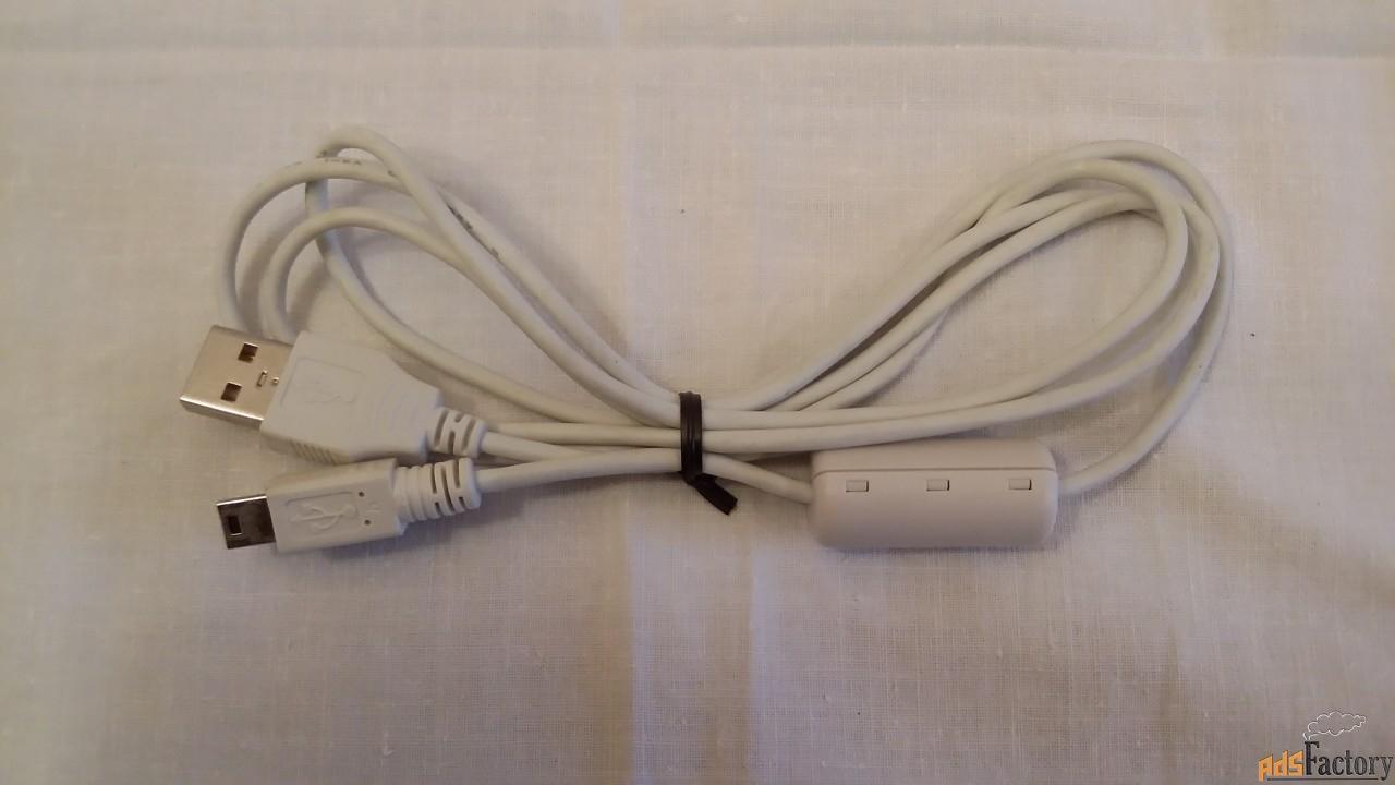 кабель - переходник usb  -  mini usb новый в упаковке