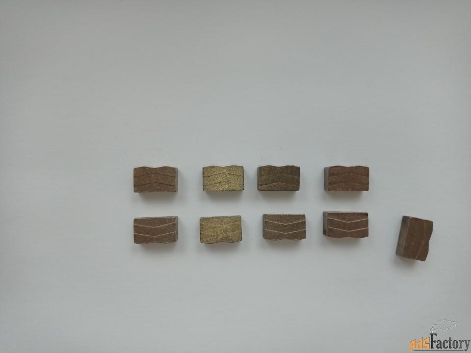 диски, алмазные сегменты для камнерезных станков