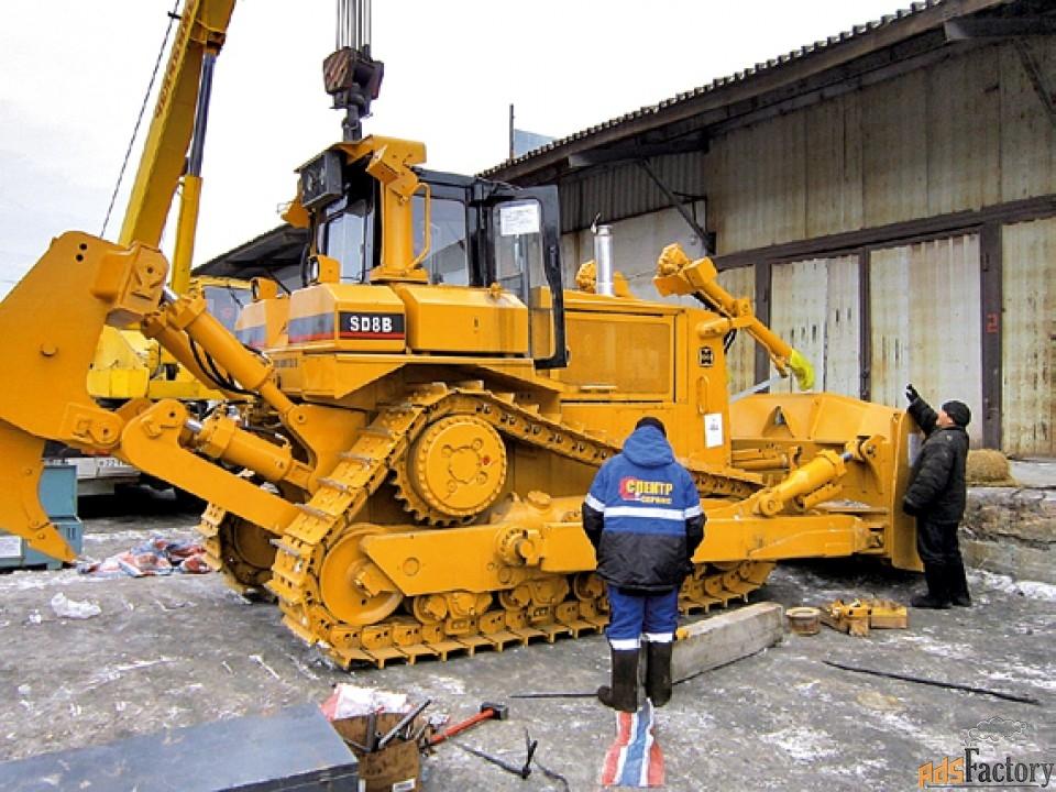 ремонт и обслуживание бульдозеров shehwa и shantui