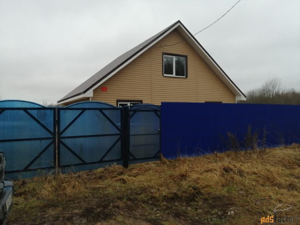 дом 100 м² на участке 16 сот.