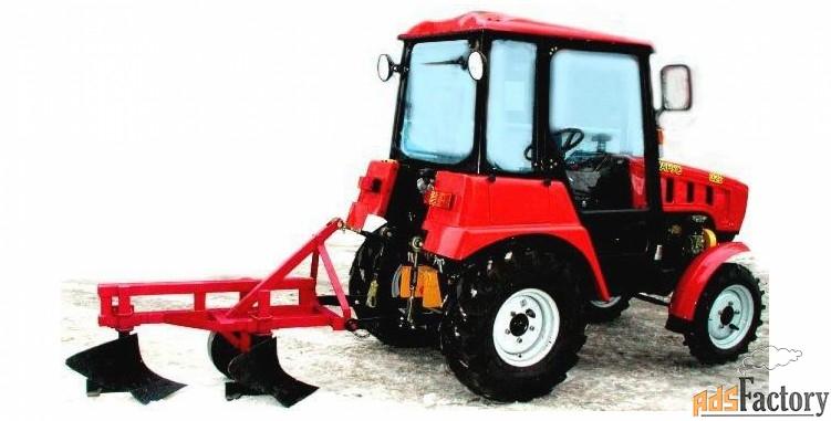 Плуг 2-х корпусный для мини-трактора