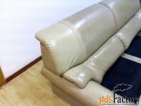 чистка обивки мягкой мебели из натуральной кожи