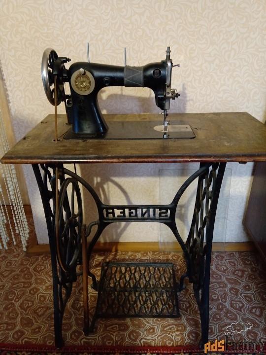 швейная машинка «зингер»-ножная.