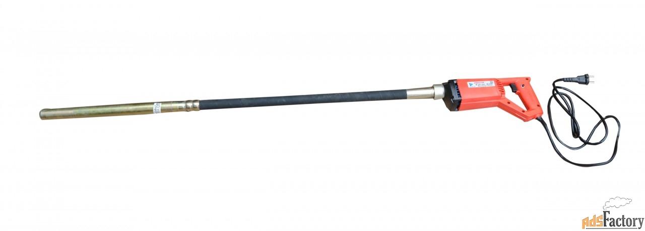 вибратор vektor 35h, гибкий вал 1,5 м со встроенной буловой ф-35 0,8кв