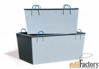 ящик каменщика (як-0.25), 0.25м3, 2.0мм,45кг, 1000x700x400мм доставка