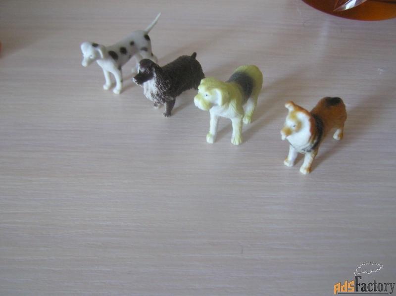 детские игрушки - собачки 4шт.