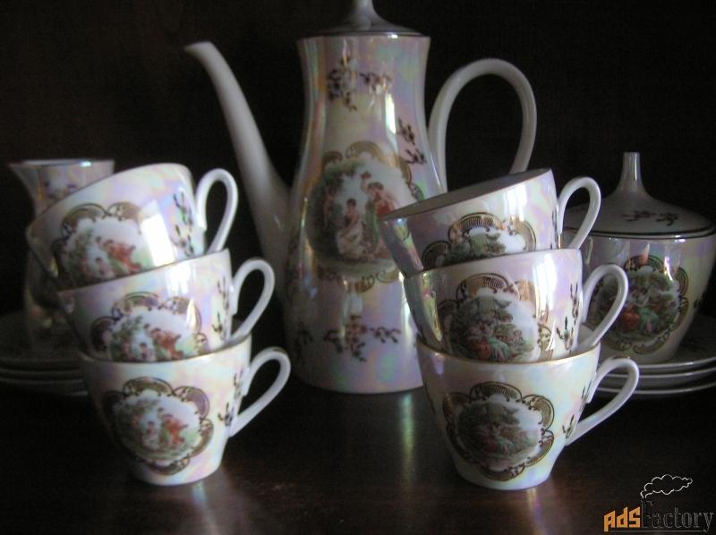 чайный сервиз мадонна на 6 персон