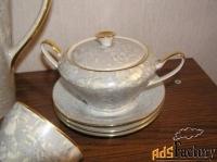 сервиз кофейно-чайный перламутровый