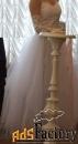свадебное платье-трансформер + длинные перчатки