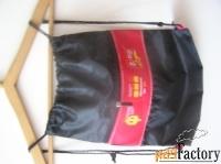 маленькие рюкзачки с логотипами для школы 3шт.