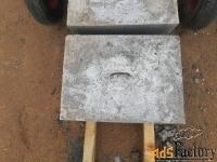 блоки бетонные 300x300x400 мм