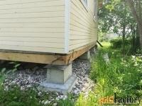 блок бетонный (опорная подушка) 500 х 500 х100 мм