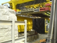 станок штрипсовый фирмы bra модель tg-60 для резки блоков твёрдых поро