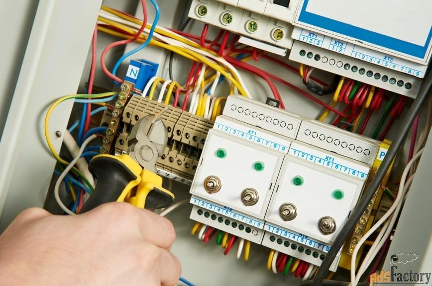 электромонтаж услуги электрика