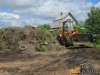 расчистка планировка участков территорий