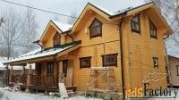 строительство домов бань гаражей