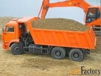 песок щебень пгс земля торф