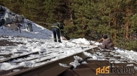 уборка снега чистка крыш