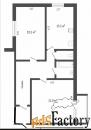 2 - комн.  квартира, 74 м², 2/12 эт.